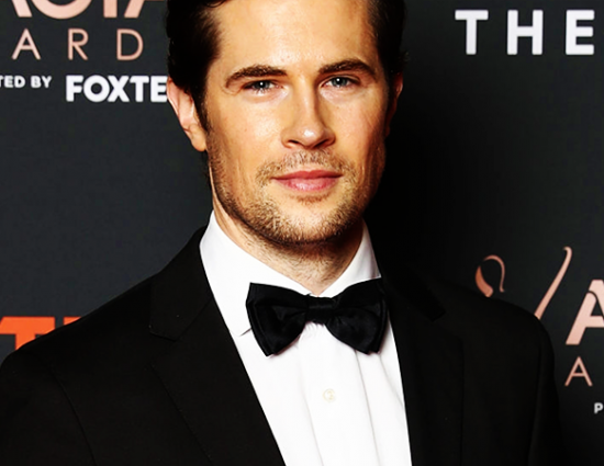 David Attends The AACTA Awards Presented By Foxtel